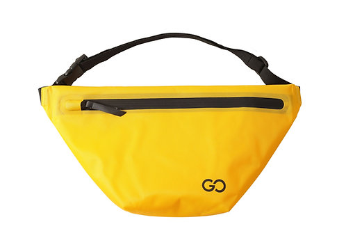 Dry Bag Bauchtasche wasserdicht gelb