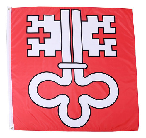 Kantonsflagge Nidwalden 120 cm x 120 cm