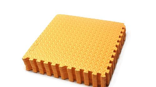 Bodenmatte 12er Set orange