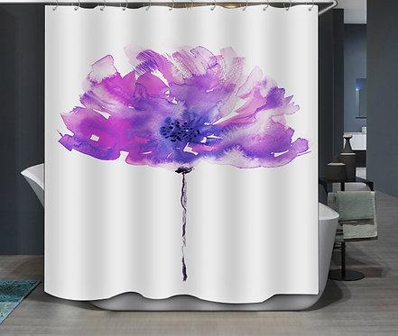 Duschvorhang Blüte