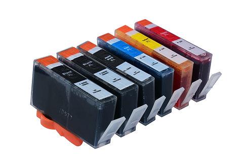 Tintenpatronen Set kompatibel mit HP 364XL BK / C / M / Y