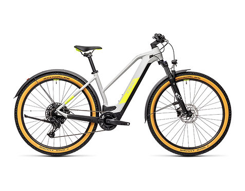 Cube Reaction Hybrid Pro 625 29 Allroad Lady grey´n´yellow E-Bike Hardtail Dam