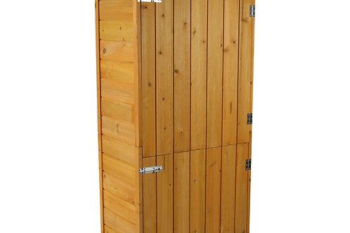 Gerätehaus aus Holz 79 x 49 x 190 cm