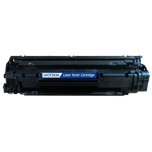 Toner schwarz kompatibel mit HP CF283A / 83A