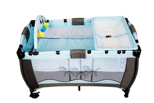 Baby & Kinder Reisebett hellblau