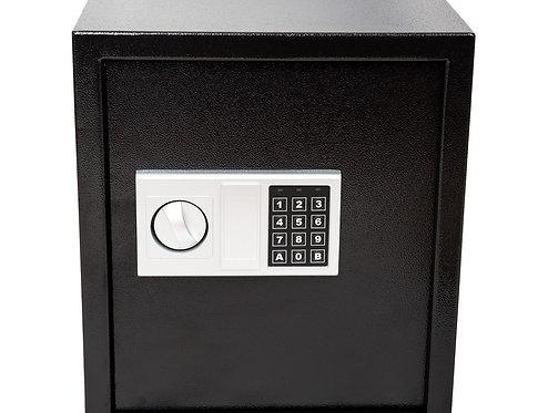 Elektronischer Tresor schwarz
