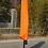 Thumbnail: Ampelschirm mit LED 350 cm orange