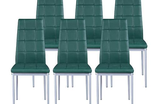 Esszimmerstuhl MARC grün 6er Set