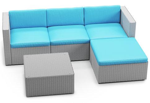 Ersatzkissen Lounge Malibu türkis
