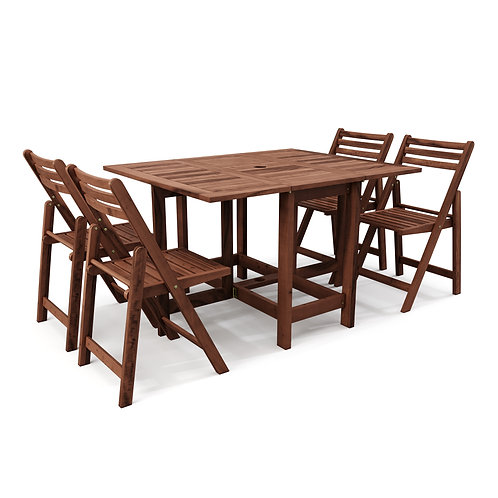 Gartenmöbel Set aus Holz MALAGA