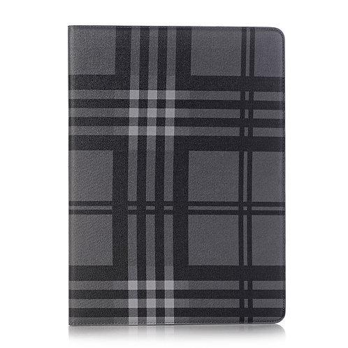 Lederetui für iPad Pro 12.9 grau/schwarz