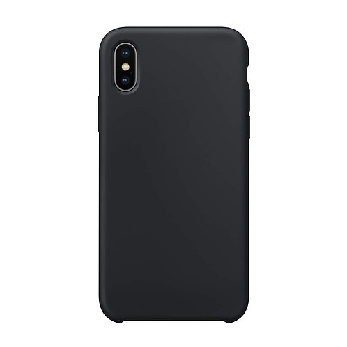 Schutzhülle für iPhone X schwarz