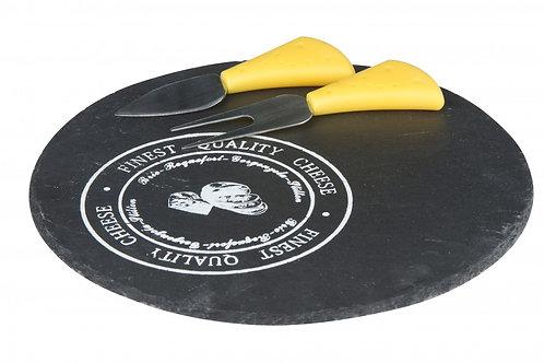 Käse-Set 3-teilig rund