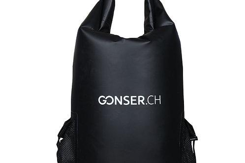 Dry Bag Rucksack wasserdicht schwarz 40L