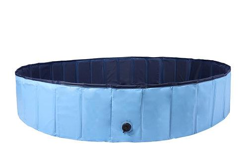 Hundepool blau 160 x 30 cm