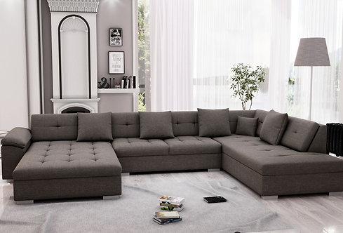 Sofa ARIA links braun