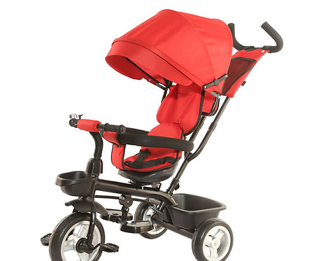 Dreirad Kinderwagen YUKI 2-in-1 rot