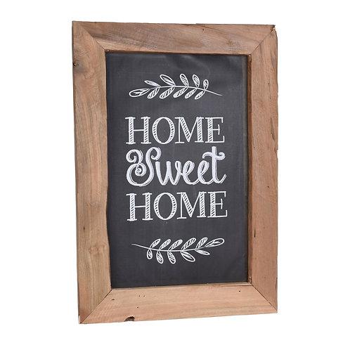 Kreidetafel mit Holzrahmen 50 x 70 cm