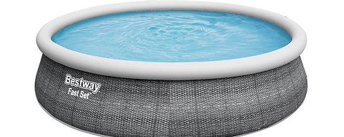 Bestway Pool mit Filterpumpe 457 x 107 cm