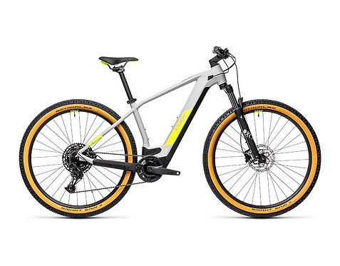 Cube Reaction Hybrid Pro 500 29 grey´n´yellow  E-Bike Hardtail