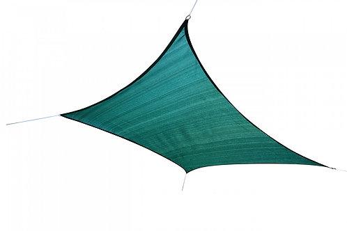 Sonnensegel Quadrat 5x5m grün
