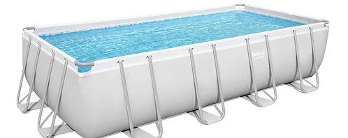 Bestway Pool Komplett-Set 488 x 244 x 122 cm