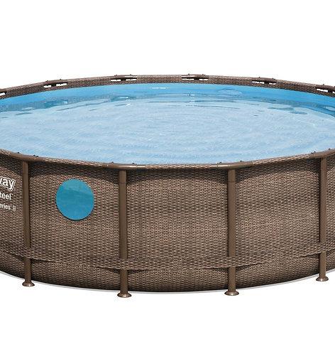 Bestway Swimming Pool Komplett-Set 488 x 122 cm