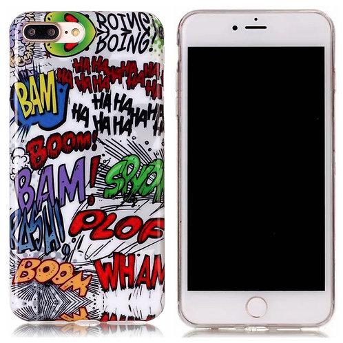 Handyhülle Comic Graffiti iPhone 7 Plus