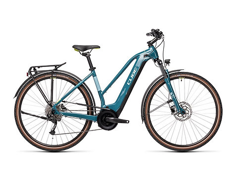 CUBE Touring Hybrid ONE 625 Lady blue´n´green