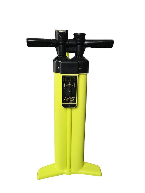 Luftpumpe Handpumpe gelb