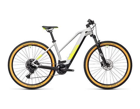 Cube Reaction Hybrid Pro 625 29 Lady grey´n´yellow  E-Bike Hardtail Damen
