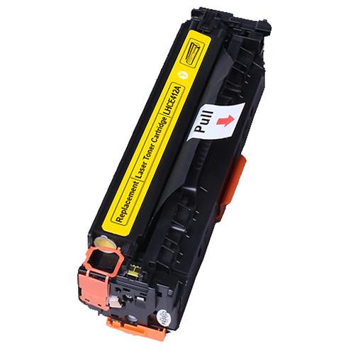 Toner gelb kompatibel mit HP CE412A / 305A