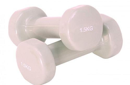 Hantel VINYL 2 x 1.5  kg Set