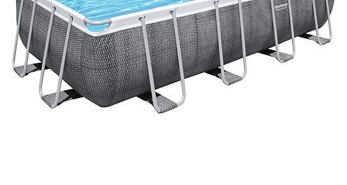 Bestway Swimming Pool Komplett-Set 488 x 244 x 122 cm