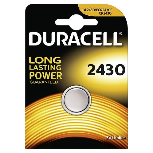 DURACELL Lithium DL2430 / CR2430 Batterie