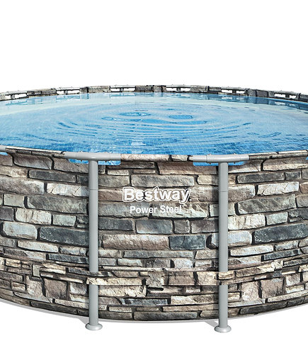 Bestway Pool Komplett-Set 549 x 132 cm