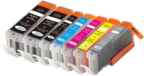 Tintenpatronen Set kompatibel mit Canon PGI-580 / CLI-581 XL