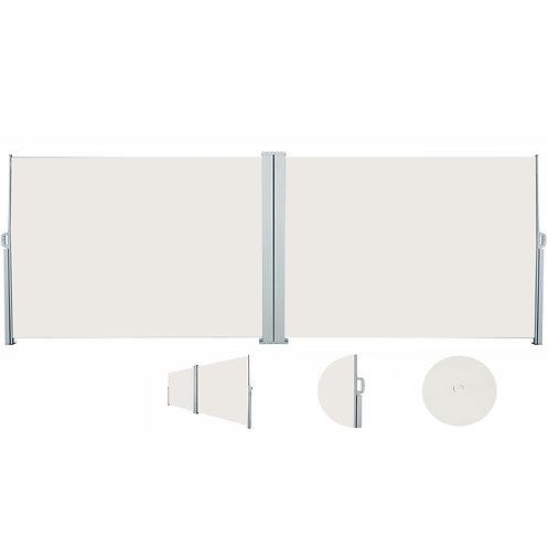 Doppelseitenmarkise 180 x 800 cm beige
