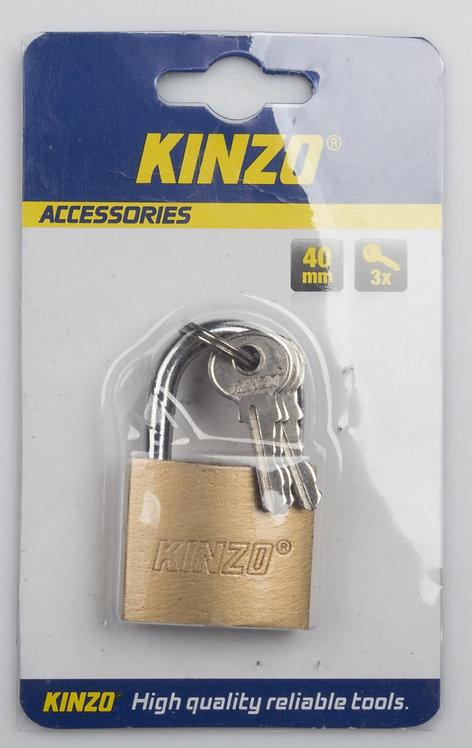Vorhängeschloss 40mm mit 3 Schlüssel