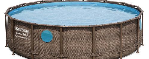 Bestway Pool Komplett-Set 488 x 122 cm