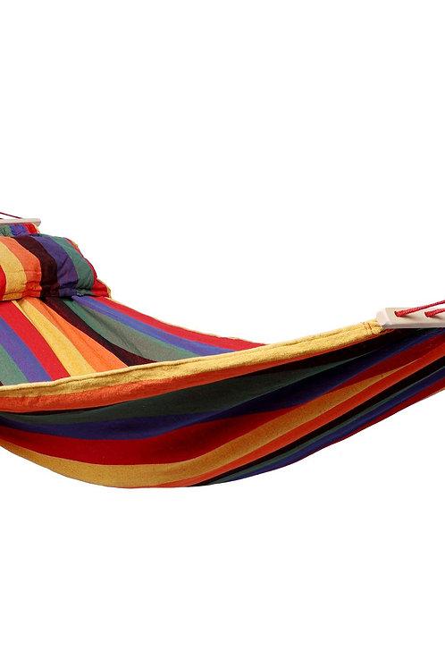 Hängematte 220 x 140 cm farbig