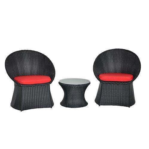 Ersatzkissen für Lounge LANCIANO rot