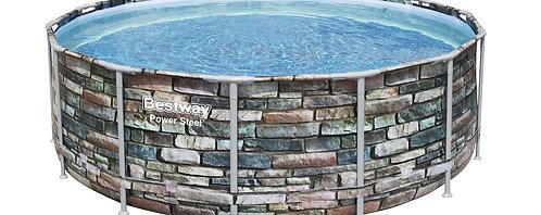 Bestway Swimming Pool Komplett-Set 427 x 122 cm