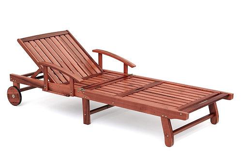Liegestuhl aus Holz FLORENZ