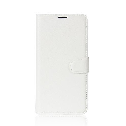 Lederetui für Xiaomi Redmi 5A weiss