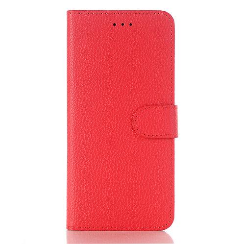 Lederetui rosa für Samsung Galaxy S9 Plus