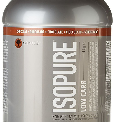 Isopure Proteinpulver Low Carb 1000 g Chocolate