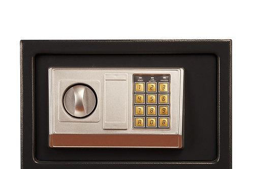 Elektronischer Kleintresor 31 x 20 x 20 cm schwarz