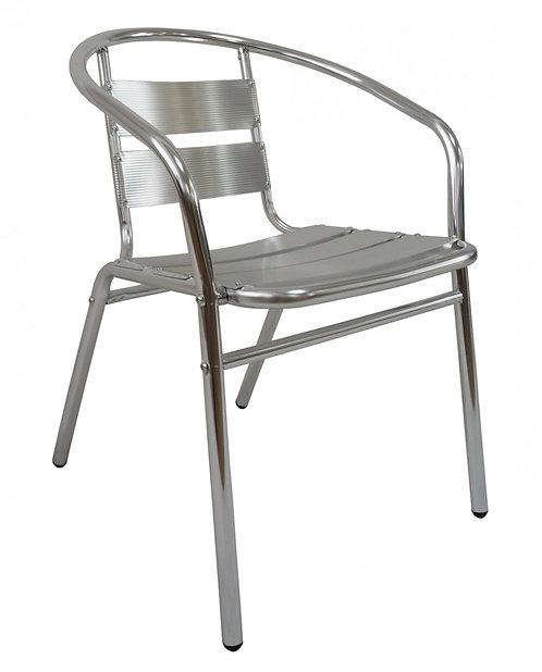 Aluminium Stuhl stapelbar