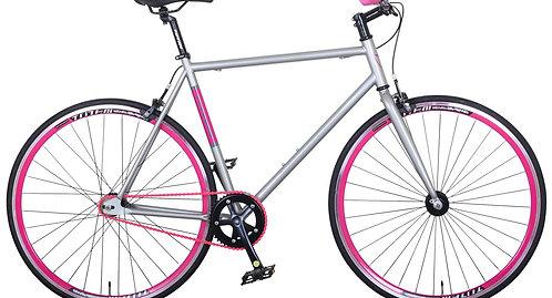 Fixie Bike 54 cm URBAN SILVER